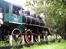 Original Burma Death Railway Locomotive
