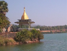 Kandawgyi Lake, Mudon