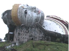 Largest relcining Buddha in the world